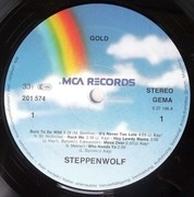LP - Steppenwolf - Gold (Their Great Hits)