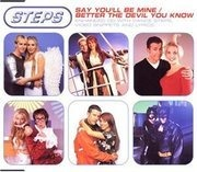 CD Single - Steps - Say You'Ll Be Mine