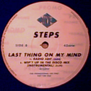 12inch Vinyl Single - Steps - Last Thing On My Mind