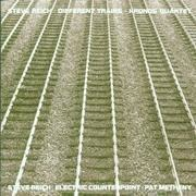 CD - Steve Reich - Different Trains / Electric Counterpoint