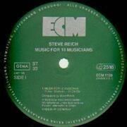 LP - Steve Reich - Music For 18 Musicians - german original