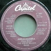 7'' - Steve Miller Band - Abracadabra