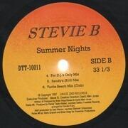 12inch Vinyl Single - Stevie B - Summer Nights - Still Sealed