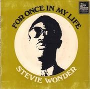 7inch Vinyl Single - Stevie Wonder - For Once In My Life - Original Australian EP