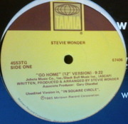 12'' - Stevie Wonder - Go Home