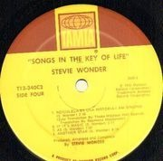 Double LP - Stevie Wonder - Songs In The Key Of Life - + 7inch Vinyl Single + booklet