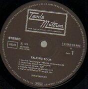 LP - Stevie Wonder - Talking Book - GERMAN ORIGINAL