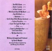 CD - Stevie Wonder - Characters