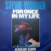 7inch Vinyl Single - Stevie Wonder - For Once In My Life