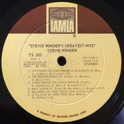 LP - Stevie Wonder - Greatest Hits