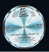 7inch Vinyl Single - Stevie Wonder - I Just Called To Say I Love You