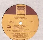 LP - Stevie Wonder - In Square Circle