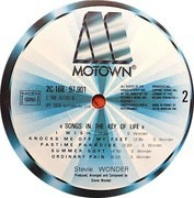Double LP - Stevie Wonder - Songs In The Key Of Life - +booklet