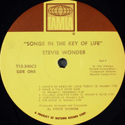 Double LP - Stevie Wonder - Songs In The Key Of Life - Gatefold + 7'