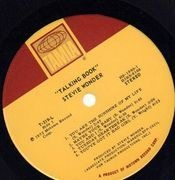 LP - Stevie Wonder - Talking Book - BRAILLE COVER