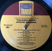 LP - Stevie Wonder - Talking Book - still sealed, gatefold