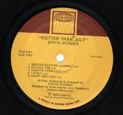 LP - Stevie Wonder - Hotter Than July