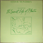 Double LP - Stevie Wonder - Journey Through The Secret Life Of Plants - Embossed Cover, with braille