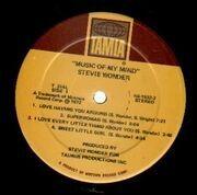 LP - Stevie Wonder - Music Of My Mind