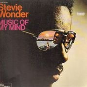 LP - Stevie Wonder - Music Of My Mind - Original German