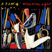 Double LP - Sting - Bring On The Night