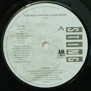 7'' - Sting - Fortress Around Your Heart