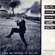 12'' - Sting - If You Love Somebody Set Them Free