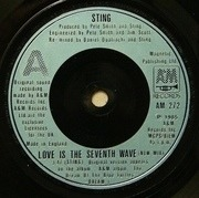 7'' - Sting - Love Is The Seventh Wave (New Mix)
