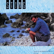 12'' - Sting - Love Is The Seventh Wave (New Mix)