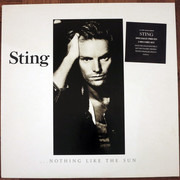 Double LP - Sting - ...Nothing Like The Sun - booklet