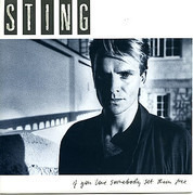 7inch Vinyl Single - Sting - If You Love Somebody Set Them Free