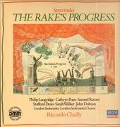 LP-Box - Stravinsky/ Riccardo Chailly, London Sinfonietta, S. Walker, S. Ramey, C. Pope, P. Langridge - The Rake's Progress - DMM , booklet with libretto