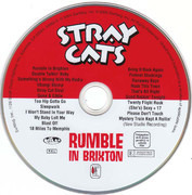 DVD - Stray Cats - Rumble In Brixton - Still Sealed