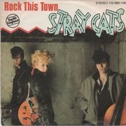 7'' - Stray Cats - Rock This Town
