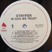 LP - Stryper - In God We Trust - +dollar bill insert