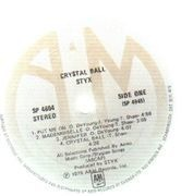 LP - Styx - Crystal Ball - Gold/Yellow Vinyl