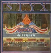 LP - Styx - Paradise Theatre - rainbow effect