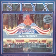 Double LP - Styx - Paradise Theatre