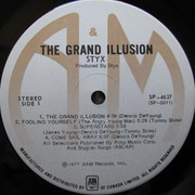 LP - Styx - The Grand Illusion
