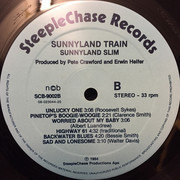LP - Sunnyland Slim - Sunnyland Train