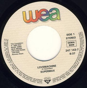 7inch Vinyl Single - Supermax / Luisa Fernandez - Lovemachine / Lay Love On You