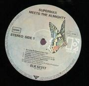 LP - Supermax - Meets the Almighty - RARE KRAUT DISCO