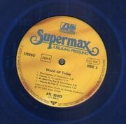 LP - Supermax - World Of Today - Blue Vinyl