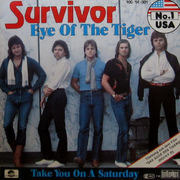 7'' - Survivor - Eye Of The Tiger
