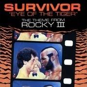7'' - Survivor - Eye Of The Tiger - Paper Labels