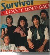 12inch Vinyl Single - Survivor - I Can't Hold Back