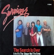 7inch Vinyl Single - Survivor - The Search Is Over