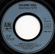 7inch Vinyl Single - Suzanne Vega - Luka