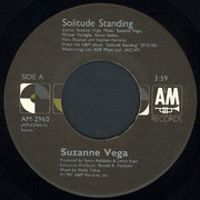 7inch Vinyl Single - Suzanne Vega - Solitude Standing