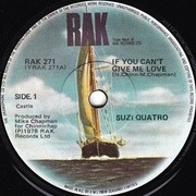 7'' - Suzi Quatro - If You Can't Give Me Love / Cream Dream